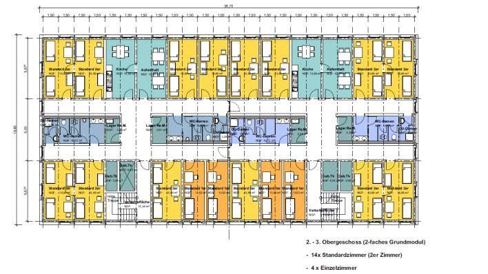 unterk nfte zuerst fl chtlinge dann studenten. Black Bedroom Furniture Sets. Home Design Ideas